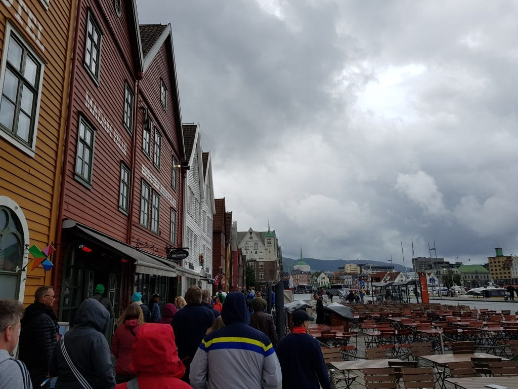 Kreuzfahrt: Bergen