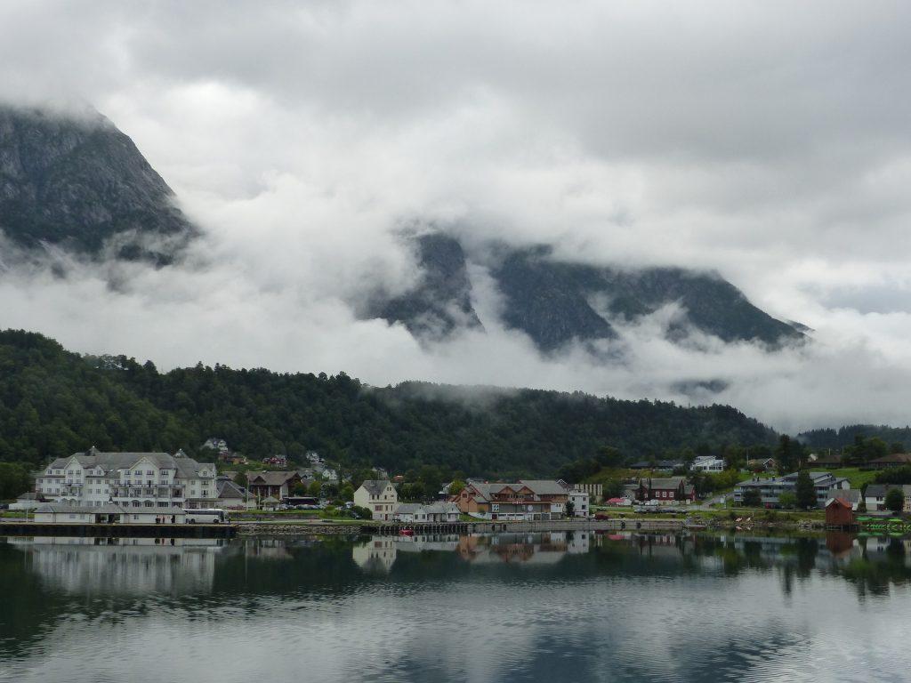 Kreuzfahrt: Eidfjord