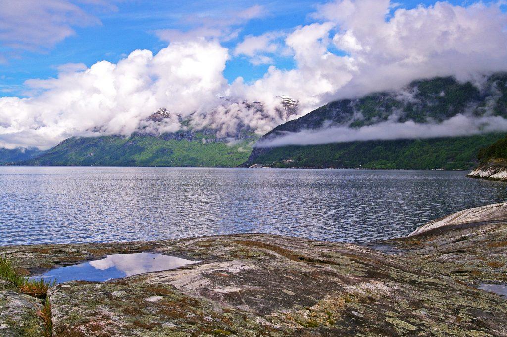 Kreuzfahrt: Rosendal (Hardangerfjord)
