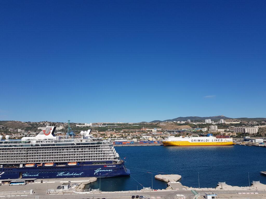 Kreuzfahrthafen von Marseille