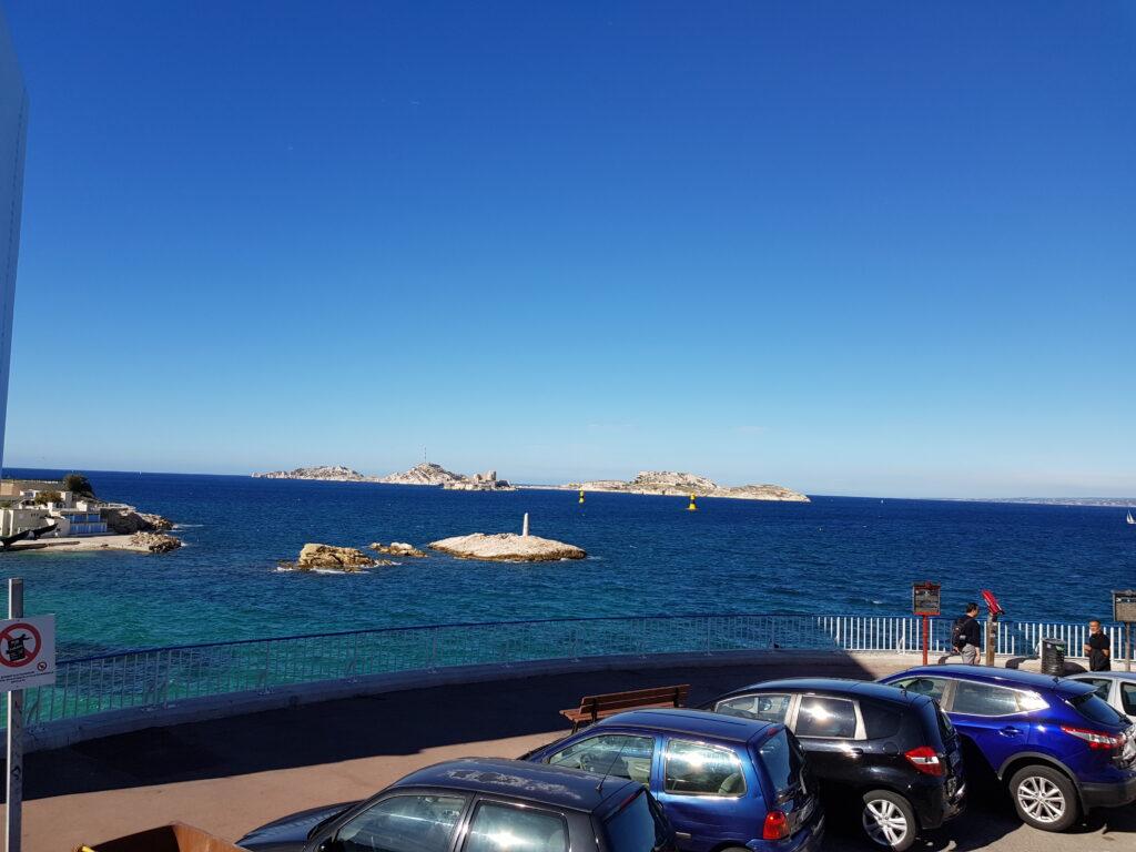 Mit dem Auto durch Marseille
