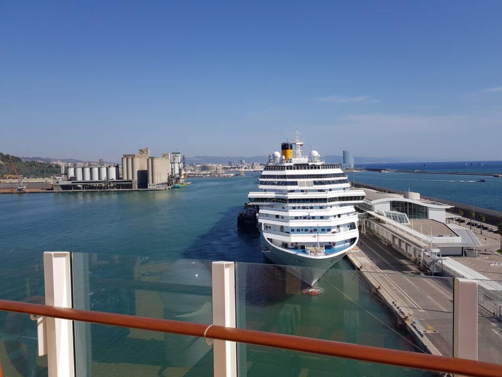 Kreuzfahrthafen Barcelona