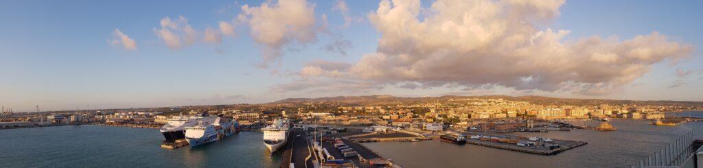 Kreuzfahrthafen Civitavecchia